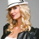 купить молодёжную шляпу к пальто