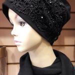 чёрная шапка чёрная купить