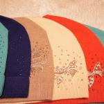 Трикотажные молодёжные шапки
