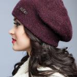 купить бардовую шапку в новосибирске
