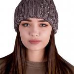 купить красивую шапку с отворотом