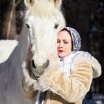 русский платок с кистями купить в новосибирске