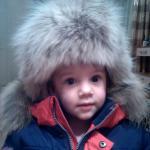 купить Детскую ушанку с натуральным и искусственным мехом