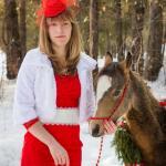купить шляпку с вуалью вуалетка фотосессия пони конный клуб у моря обского
