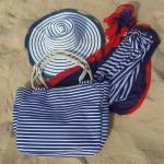 шляпа, пляжная сумка, парео купить женский пляжный