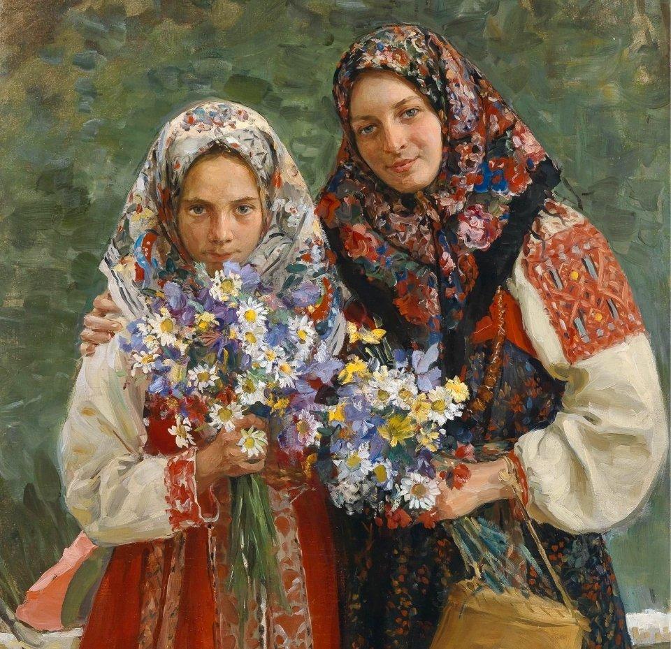 Куликов И. С.  «Полевые цветы»
