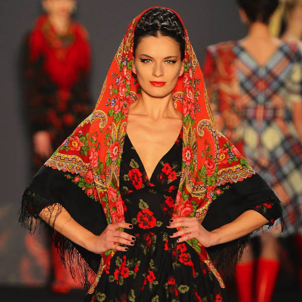 Lena Hoschek Show - Mercedes-Benz Fashion Week Autumn/Winter 2013/14