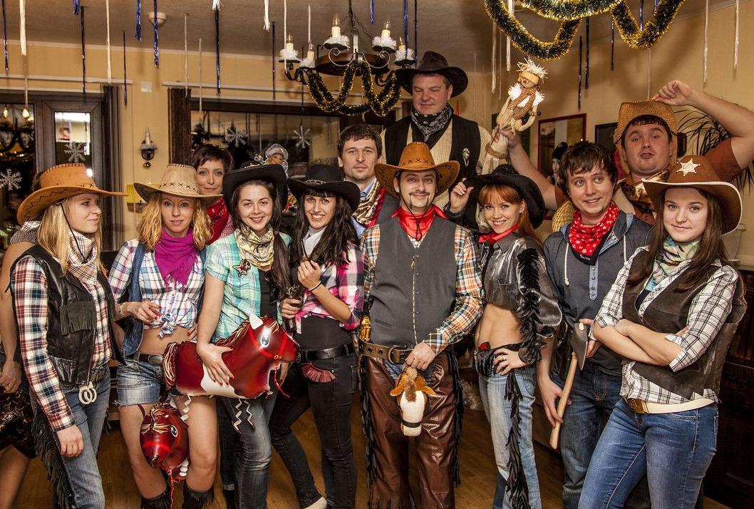 ковбойская вечеринка