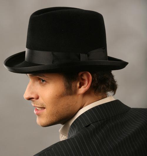 Хомбург мужские шляпы