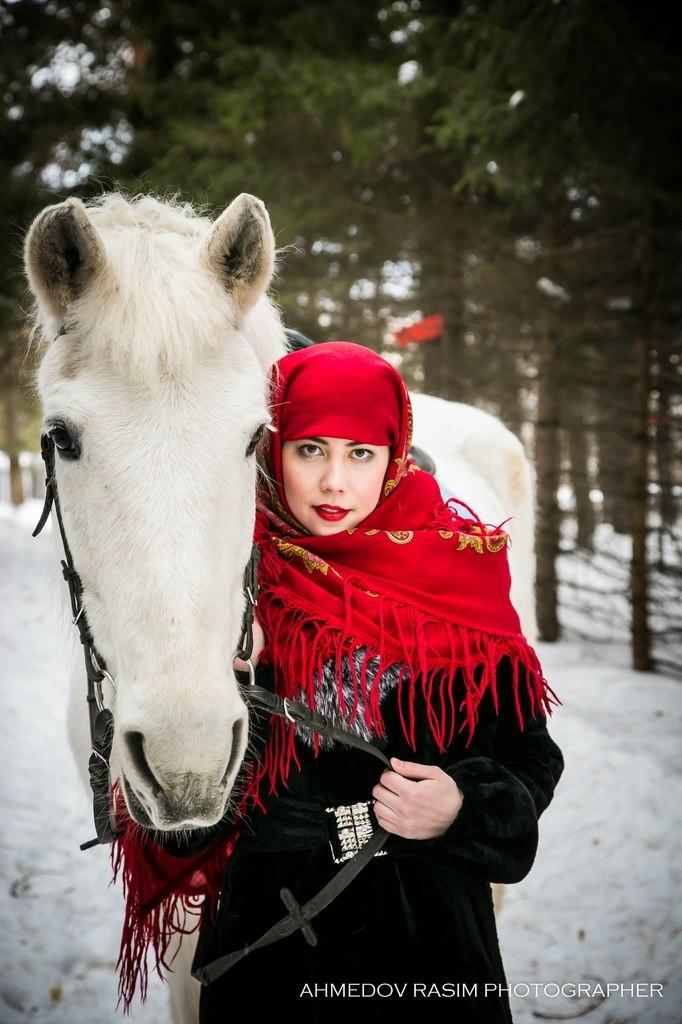 фотосессия русская красавица новосибирск