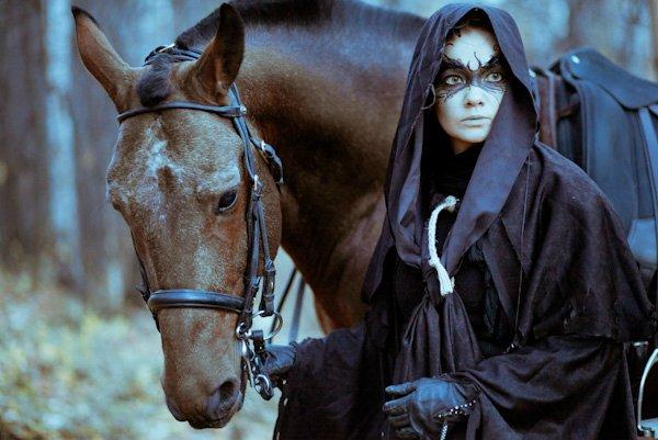 ведьминская фотосессия